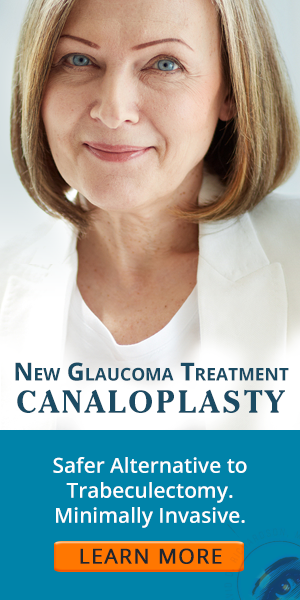 New Glaucoma Treatment Canaloplasty