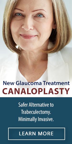 New Glaucoma Treatment Canaloplasty